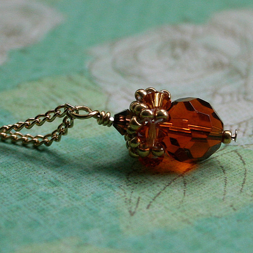 Little Acorn Necklace by April Is Forever Jewellery