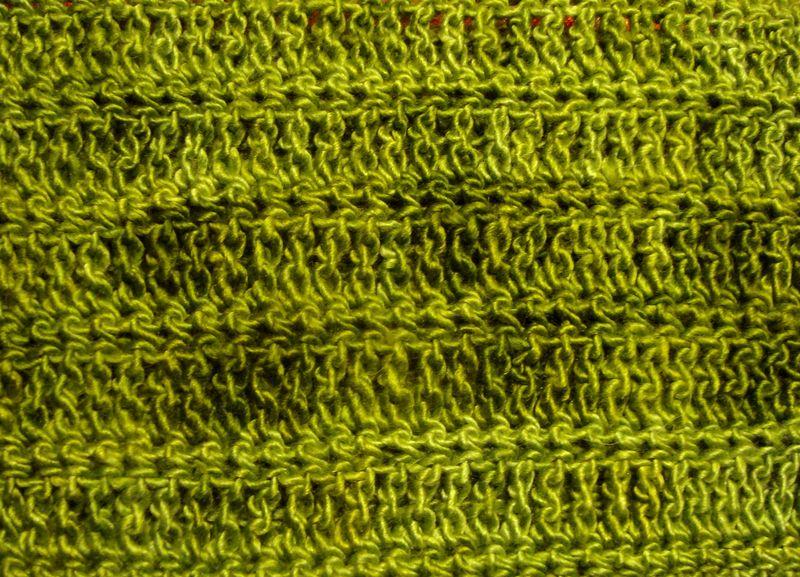 Green cowl detail