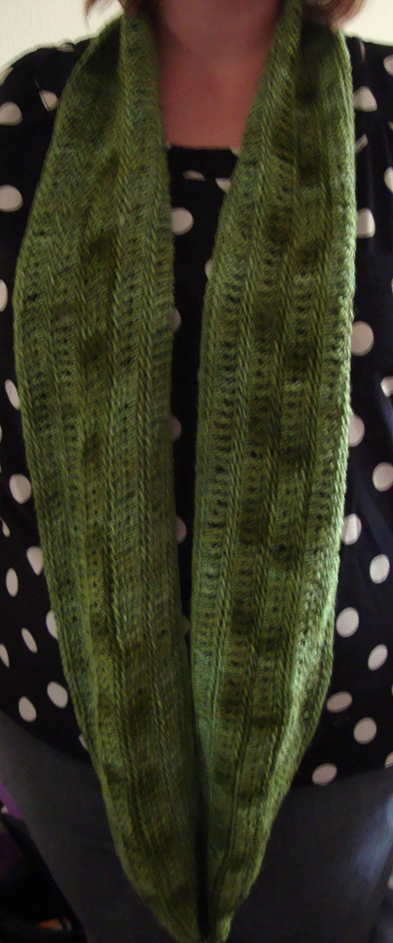 Green cowl long