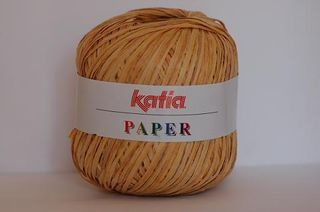 Katia Paper in lovely straw colour