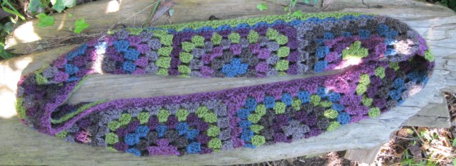 Crochet with rymond cowl